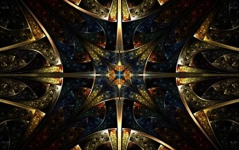 Abstracto - Fractal Wallpapers and Backgrounds ID : 389266