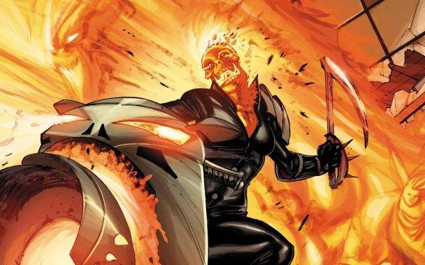 Comics Venom: Circle Of Four Ghost Rider Fondo de pantalla HD | Fondo de Escritorio