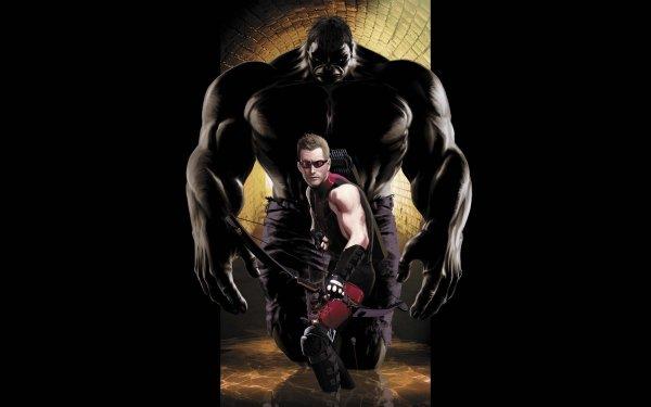 Comics Hawkeye Hulk Clint Barton Marvel Comics HD Wallpaper | Background Image