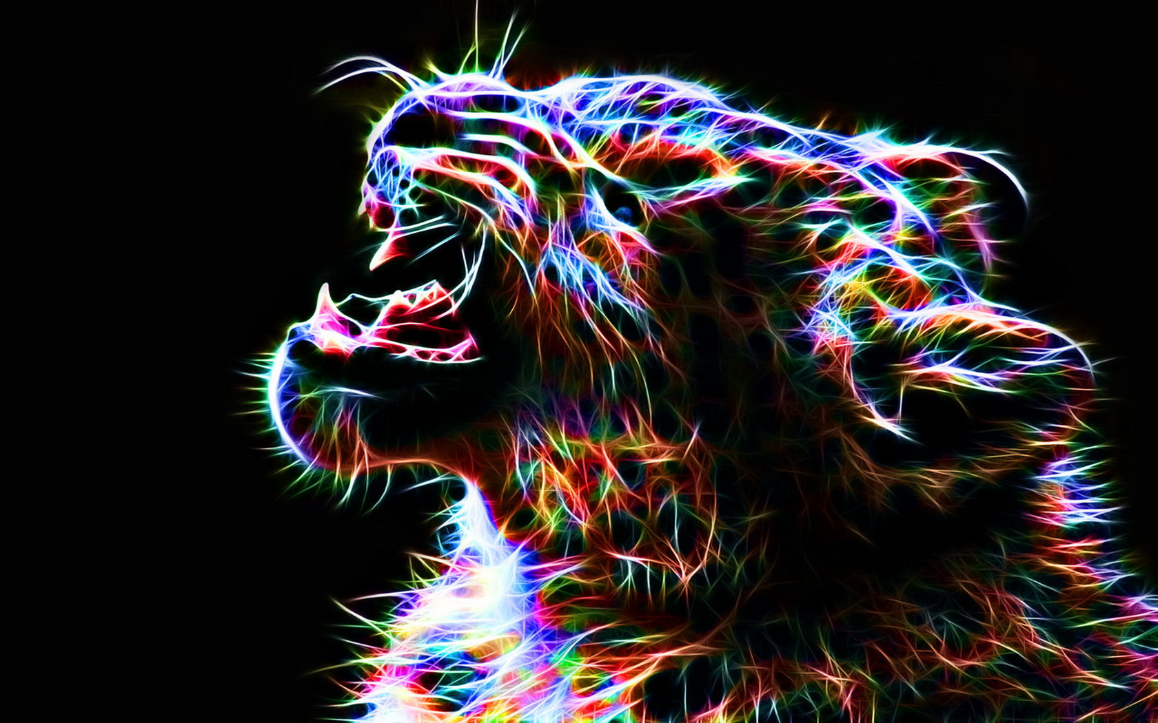 colorful leopard backgrounds artistic - photo #1