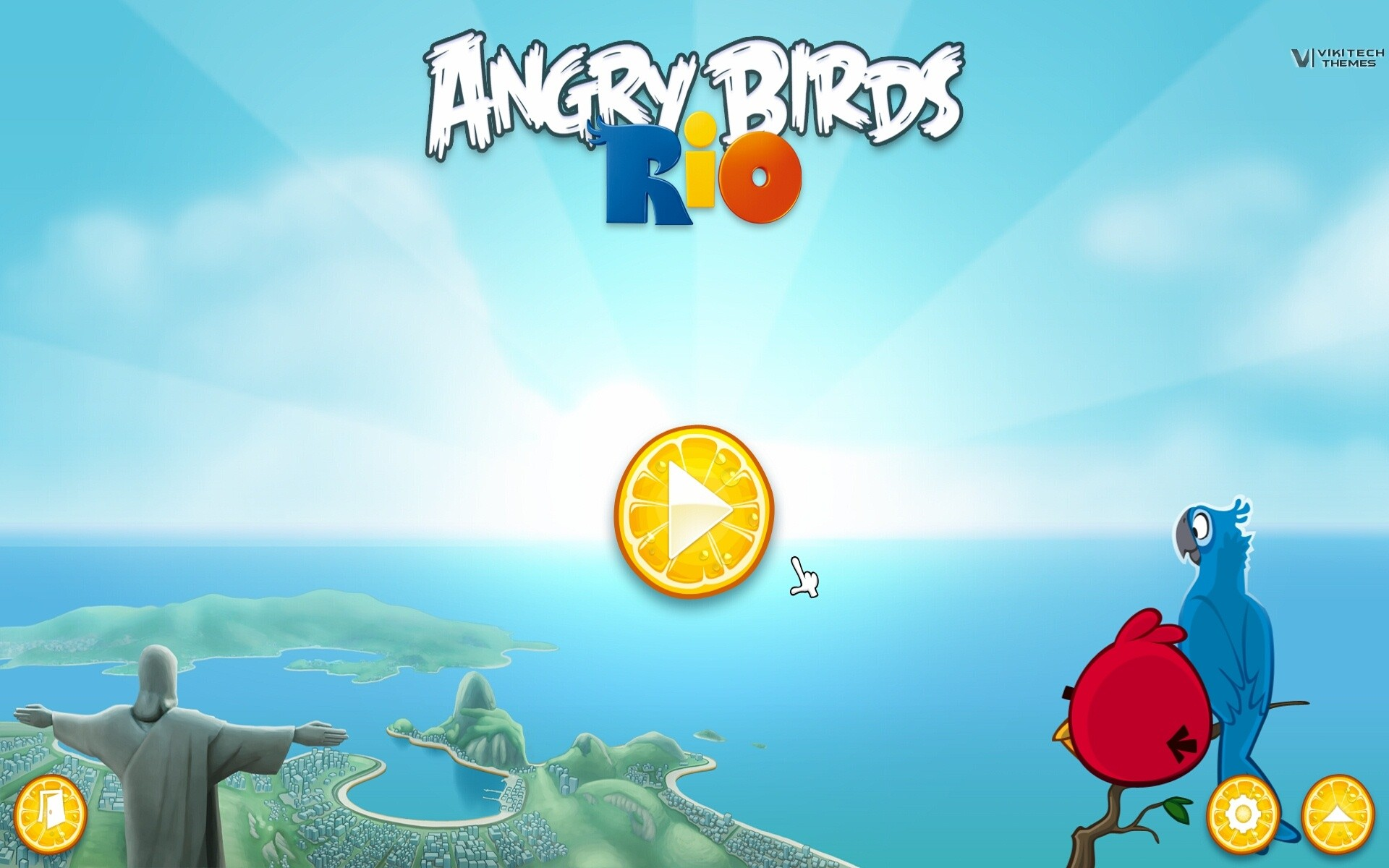 Angry Birds Rio Wallpaper Hd