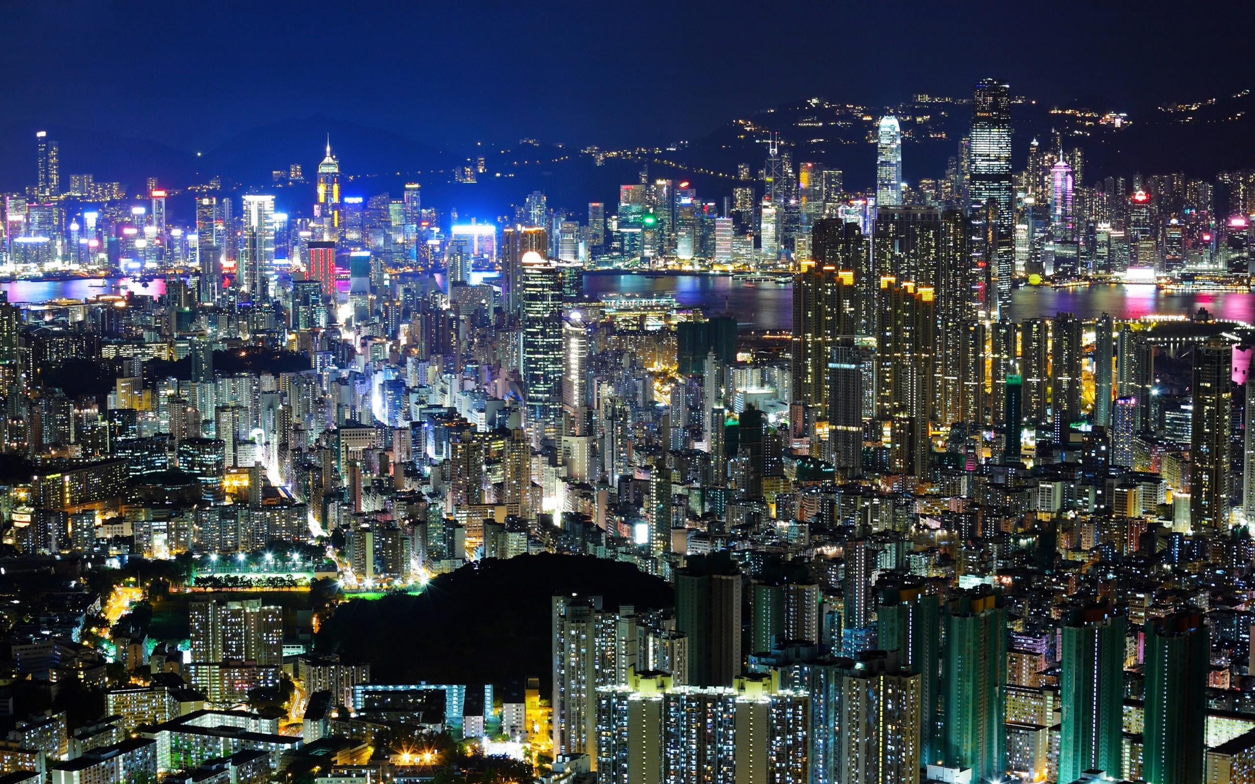 Hong Kong HD Wallpaper | Background Image | 2560x1600 | ID ...
