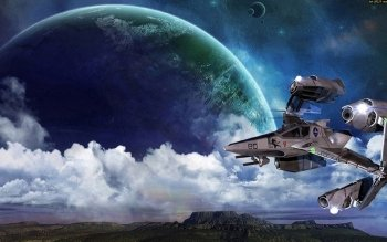 Sci Fi - Spaceship Wallpapers and Backgrounds ID : 390099