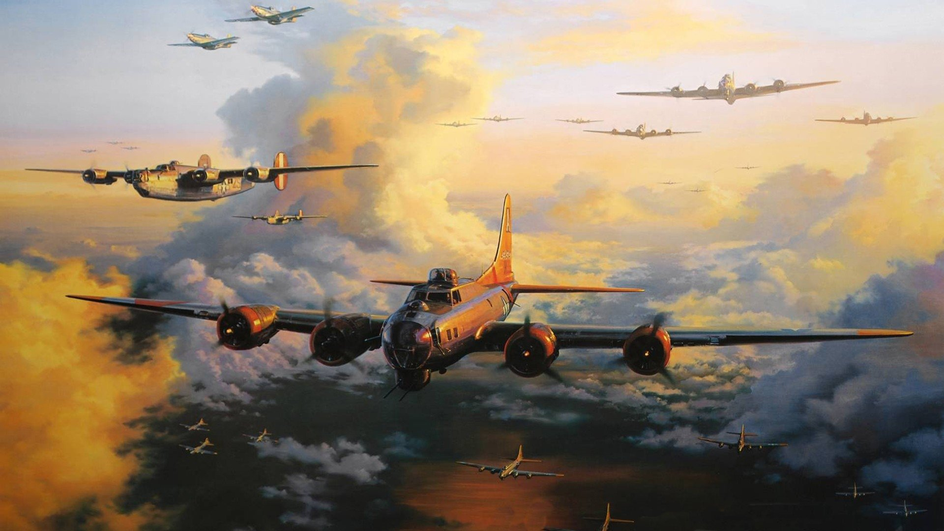 Boeing B-17 Flying Fortress Full HD Wallpaper and ...