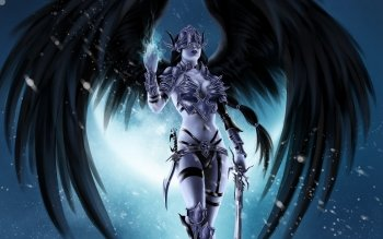 Fantasy - Angel Warrior Wallpapers and Backgrounds ID : 391046