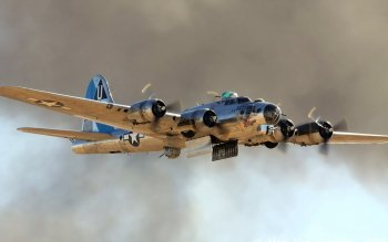 Military - Boeing B-17 Flying Fortress Wallpapers and Backgrounds