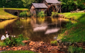 Man Made - Grist Mill Wallpapers and Backgrounds ID : 391442