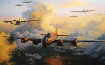Military - Boeing B-17 Flying Fortress Wallpapers and Backgrounds ID : 391974