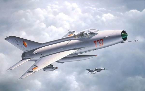 Military Mikoyan-Gurevich Mig-21 Jet Fighters HD Wallpaper   Background Image