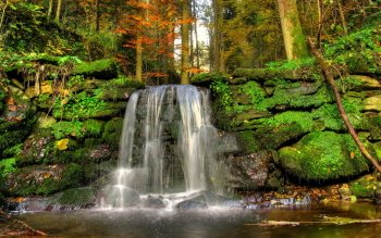 Earth - Waterfall Wallpapers and Backgrounds ID : 392485