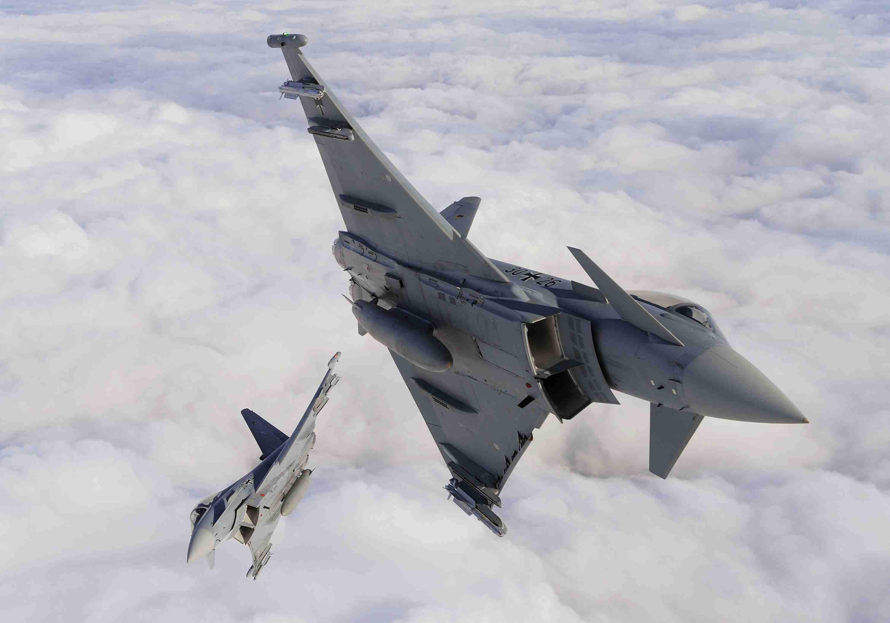 eurofighter typhoon full hd wallpaper and background image