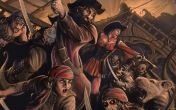 Fantasy - Pirate Wallpapers and Backgrounds ID : 393173