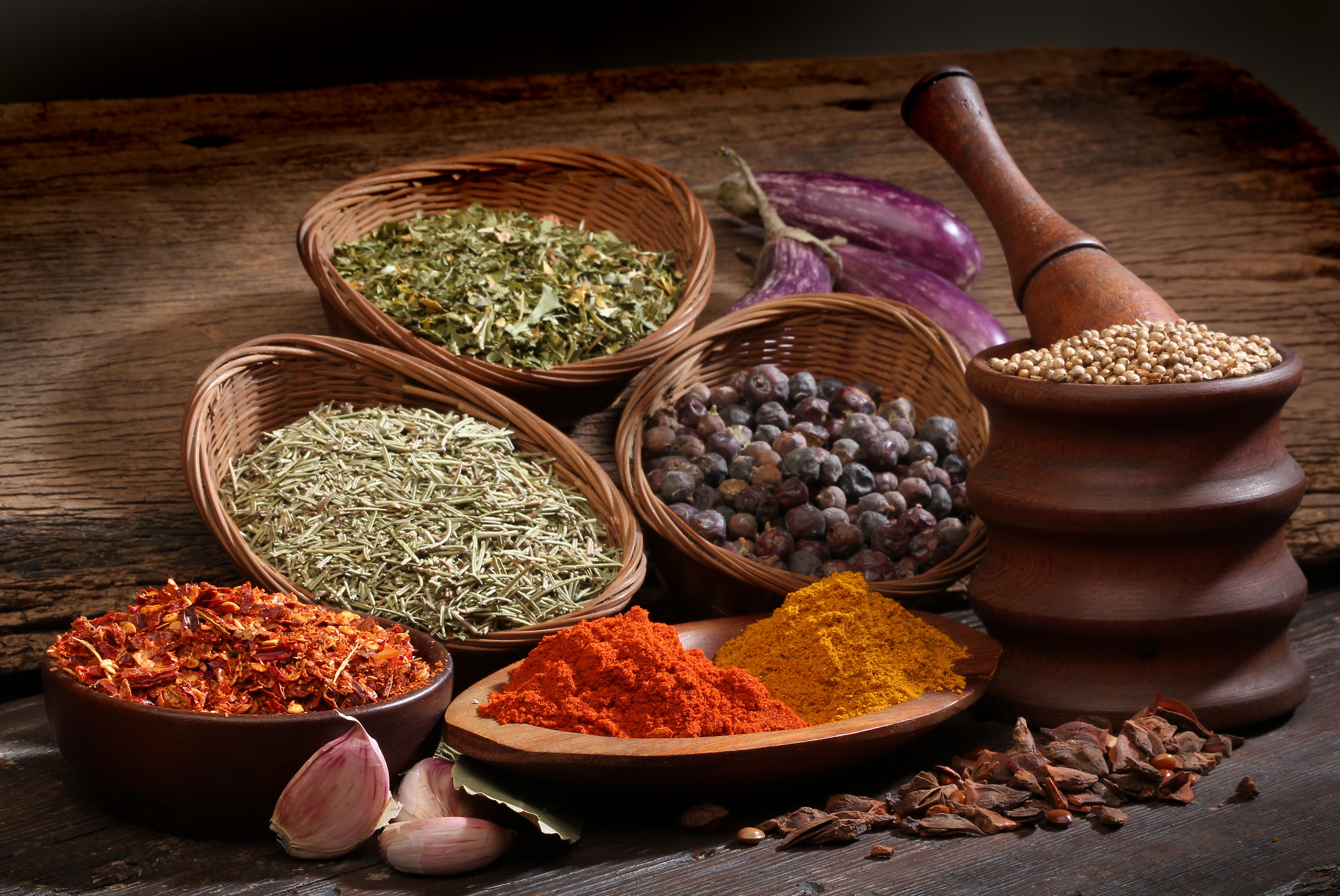 Herbs And Spices 4k Ultra HD Wallpaper