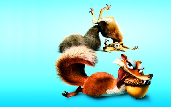 Movie Ice Age: Dawn of the Dinosaurs Ice Age Scrat HD Wallpaper | Background Image
