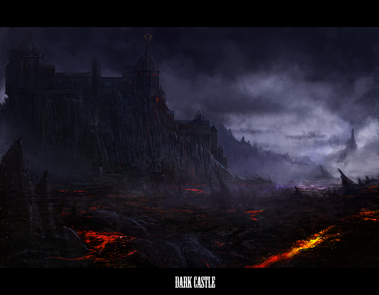 Dark Castle Wallpaper And Background Image