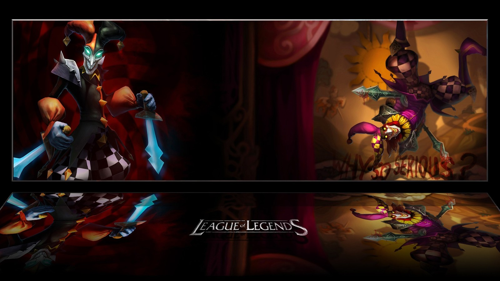 Dual Monitor Wallpaper League Of Legends: League Of Legends Wallpaper And Background Image