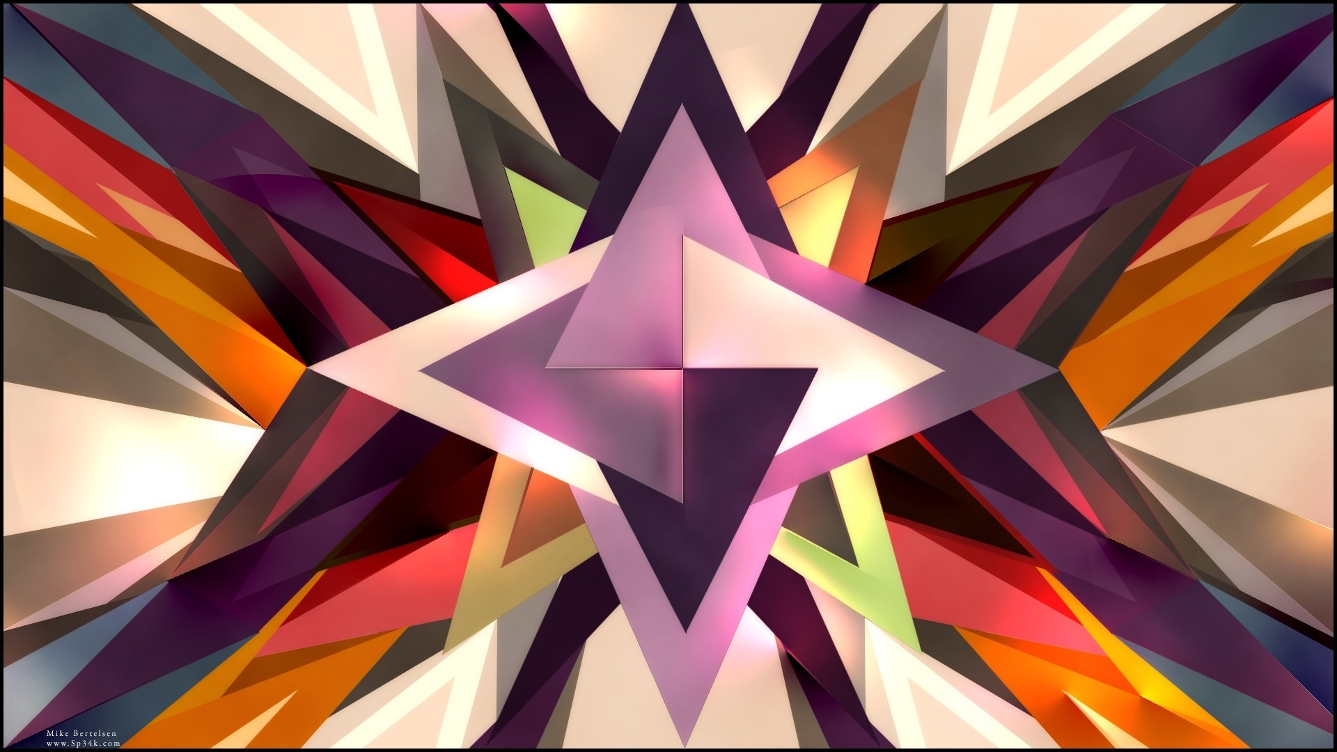 triangle abstract wallpapers hd - photo #39