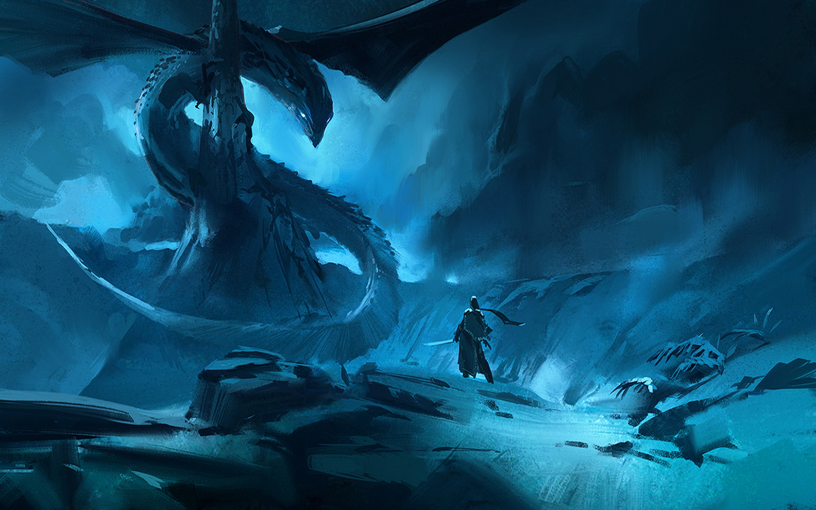 Dragon Wallpaper and Background Image   1680x1050   ID:396899
