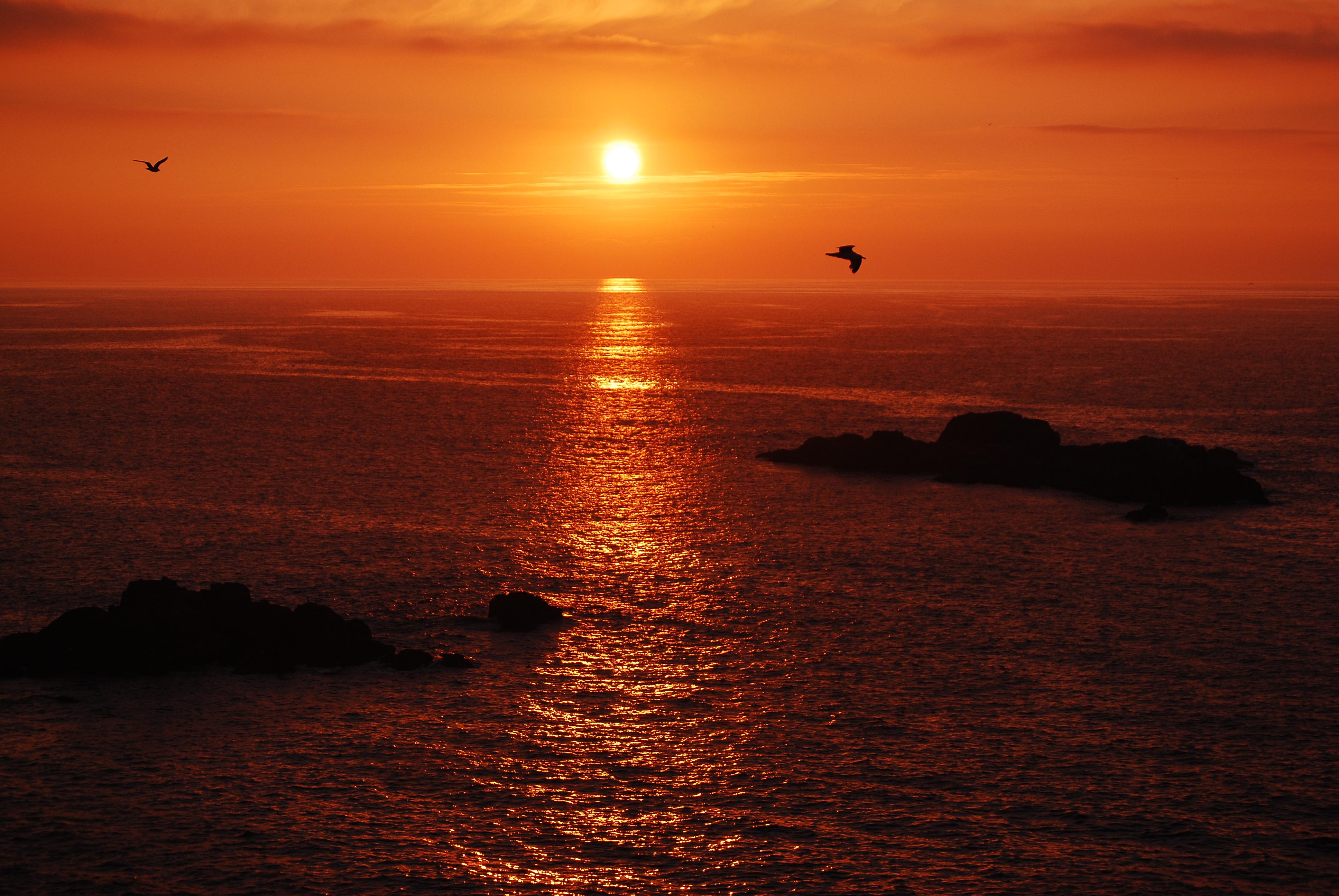 Sunset 4k Ultra Hd Wallpaper Background Image 3872x2592 Id