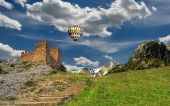Vehículos - Hot Air Balloon Wallpapers and Backgrounds ID : 397974