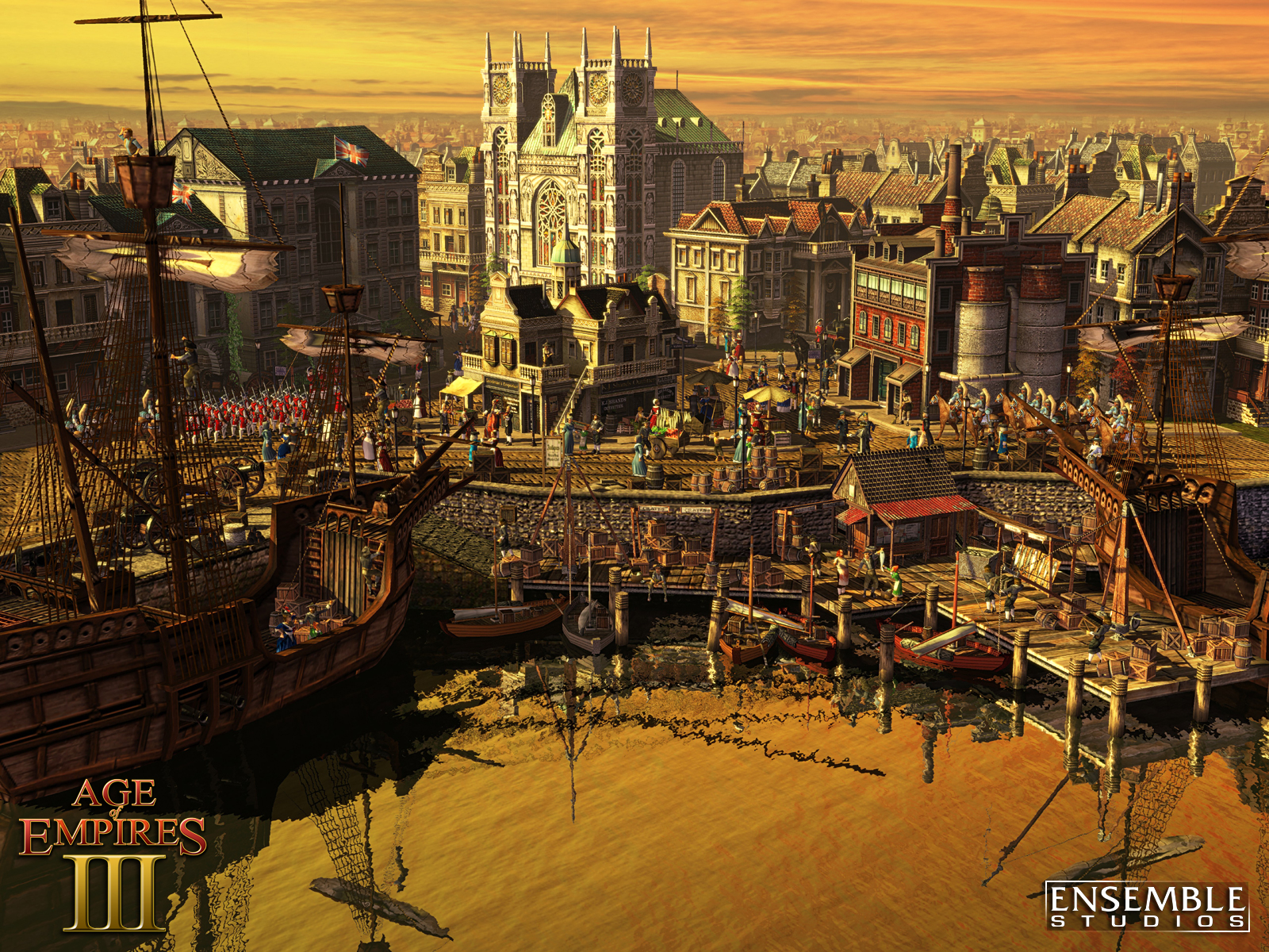 Age Of Empires Wallpaper: 19 Age Of Empires III HD Wallpapers
