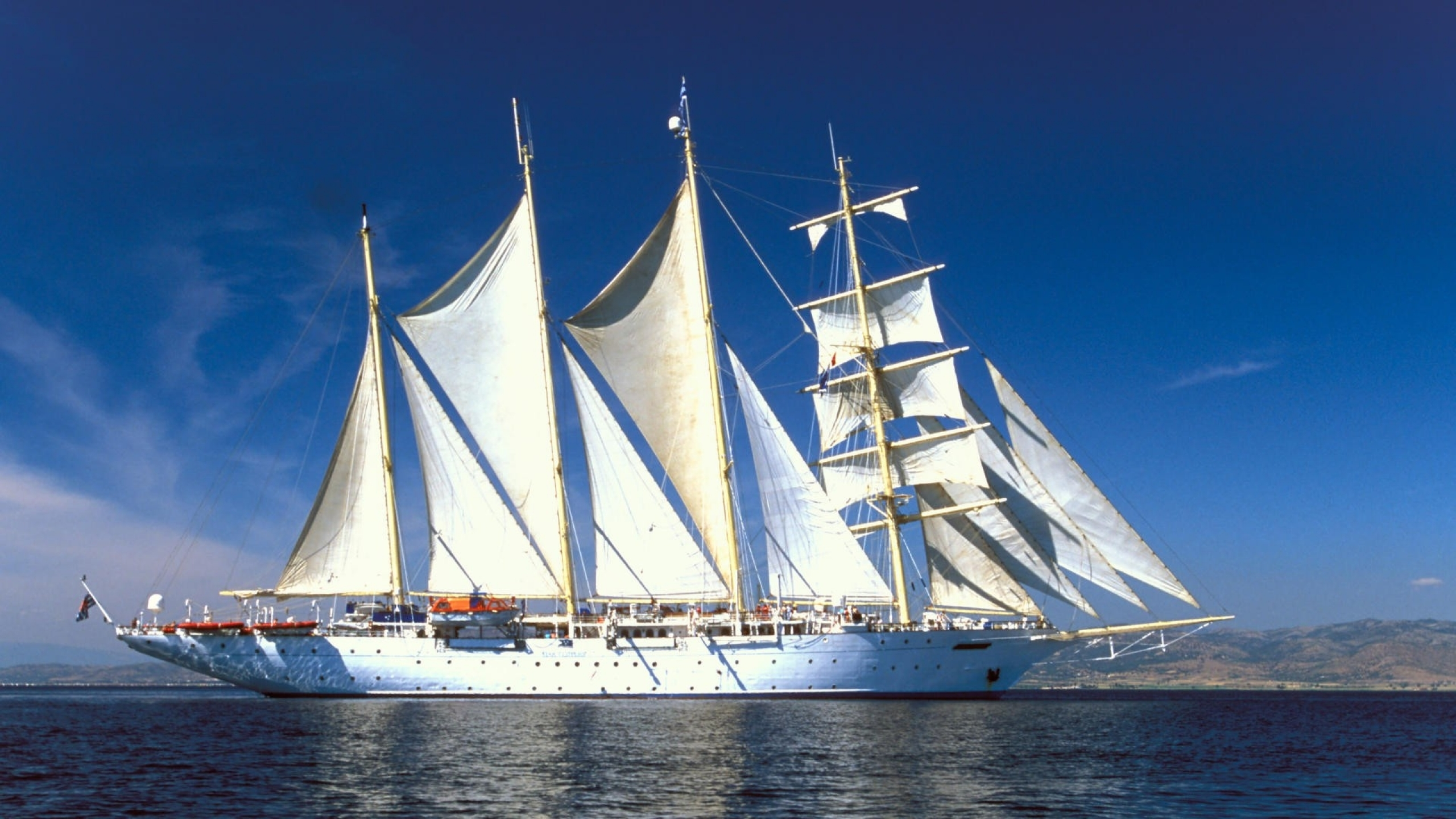 Sailing Ship Full HD Wallpaper and Background   2560x1440 ...