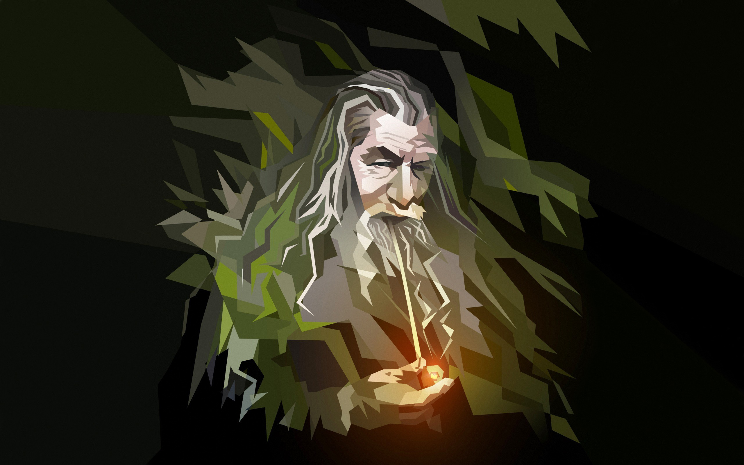 Gandalf The Hobbit An Unexpected Journey HD desktop wallpaper