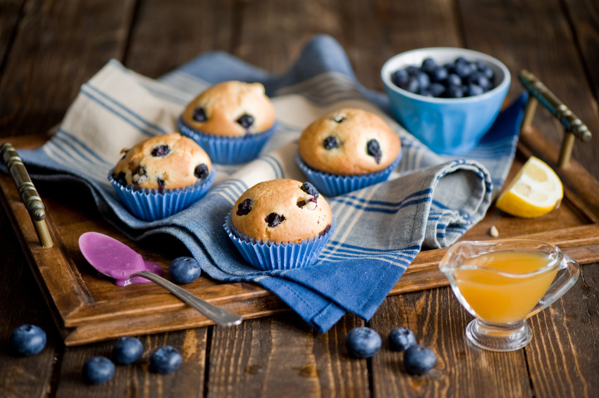 Food - Cupcake  Muffin Cake Tea Coffee Sweets Wallpaper