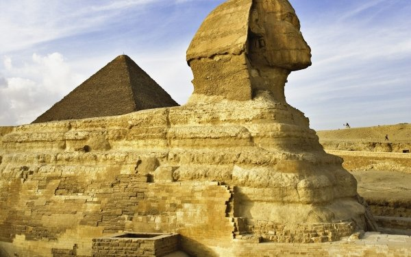 Man Made Sphinx Egypt Egyptian Cairo HD Wallpaper | Background Image