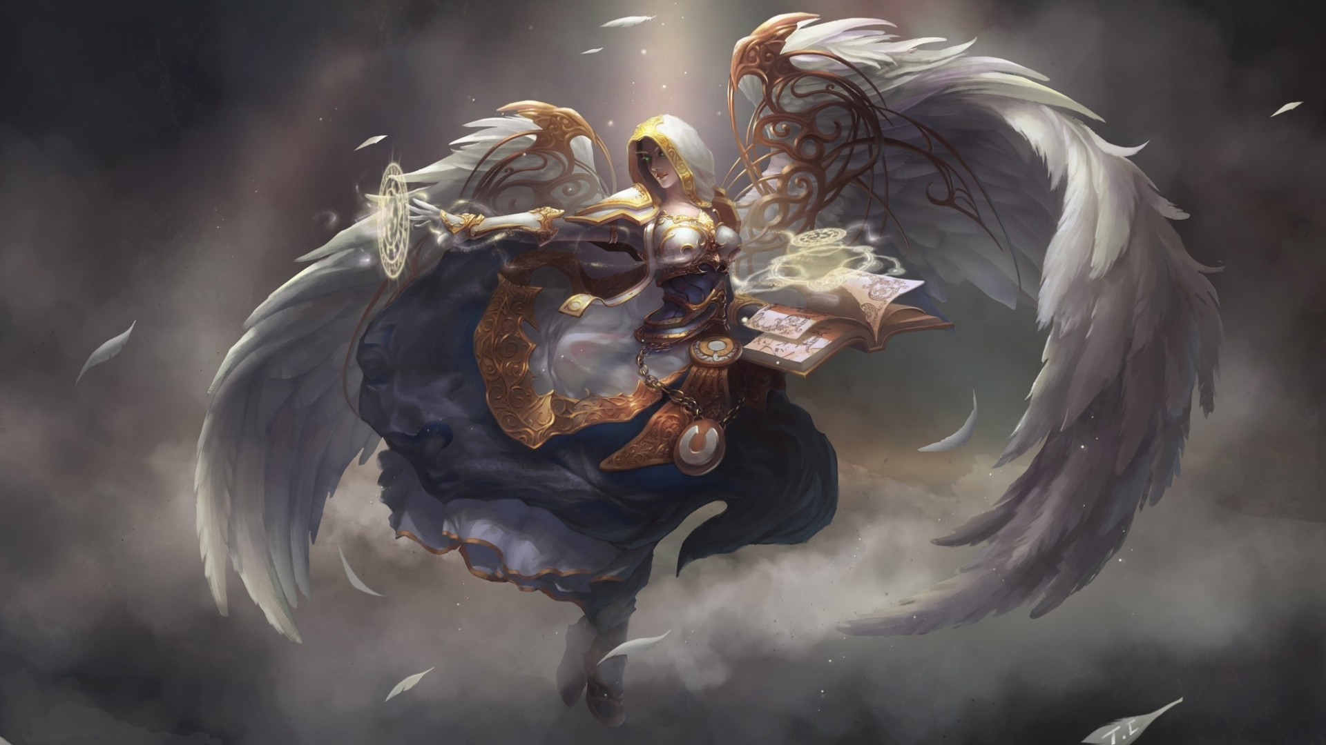 Warrior Fantasy Art Armor Angel Magic Wallpapers Hd: Kalera HD Wallpaper