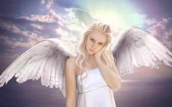 Fantasy - Angel Wallpapers and Backgrounds ID : 399068