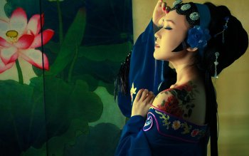 Women - Oriental Wallpapers and Backgrounds ID : 399152