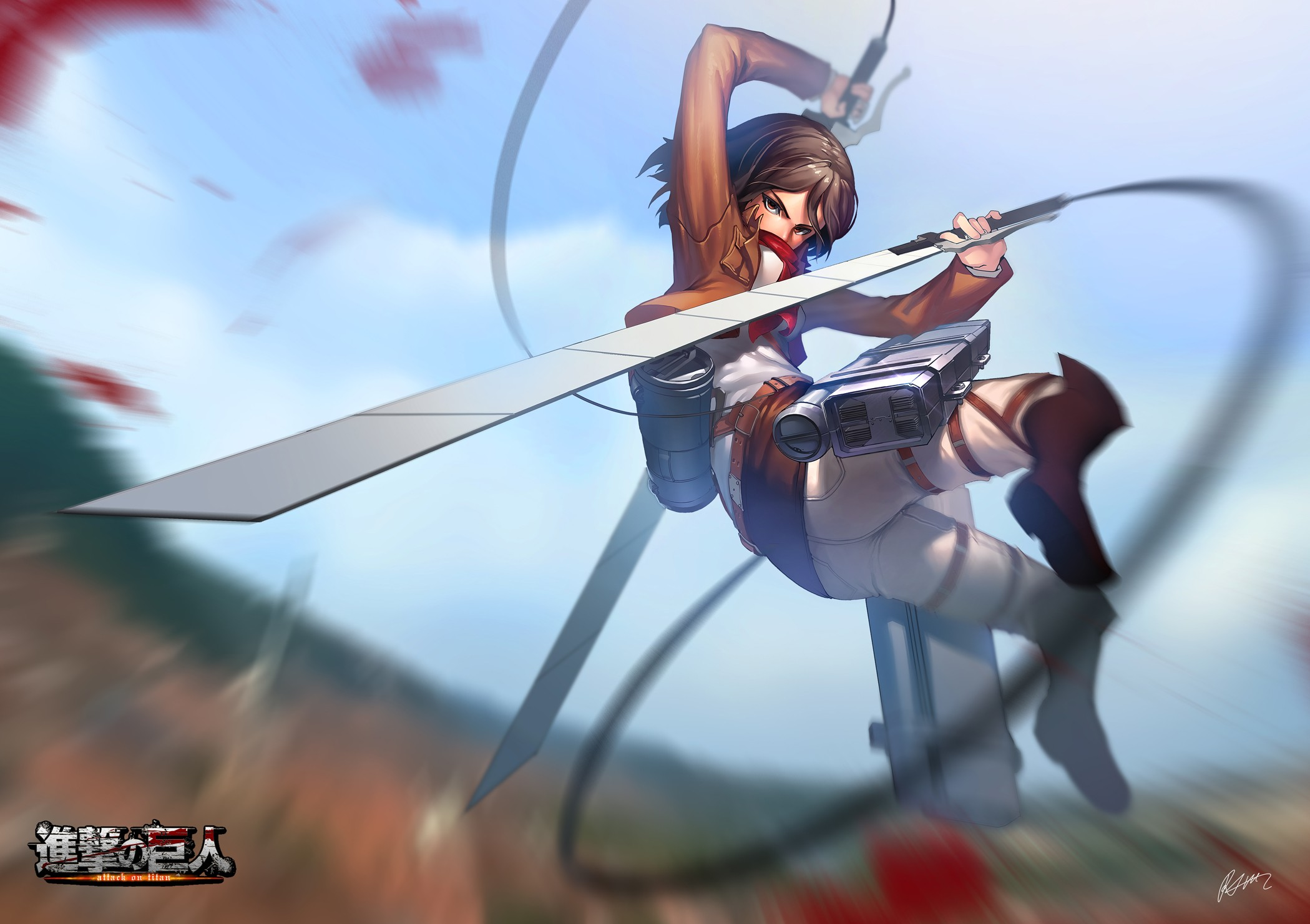 767 Mikasa Ackerman Hd Wallpapers Background Images Wallpaper