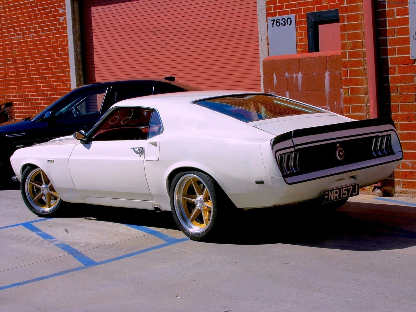 Muscle Car Wallpaper And Background Image