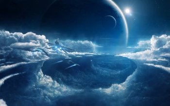 Sciencefiction - Landschap Wallpapers and Backgrounds ID : 401123