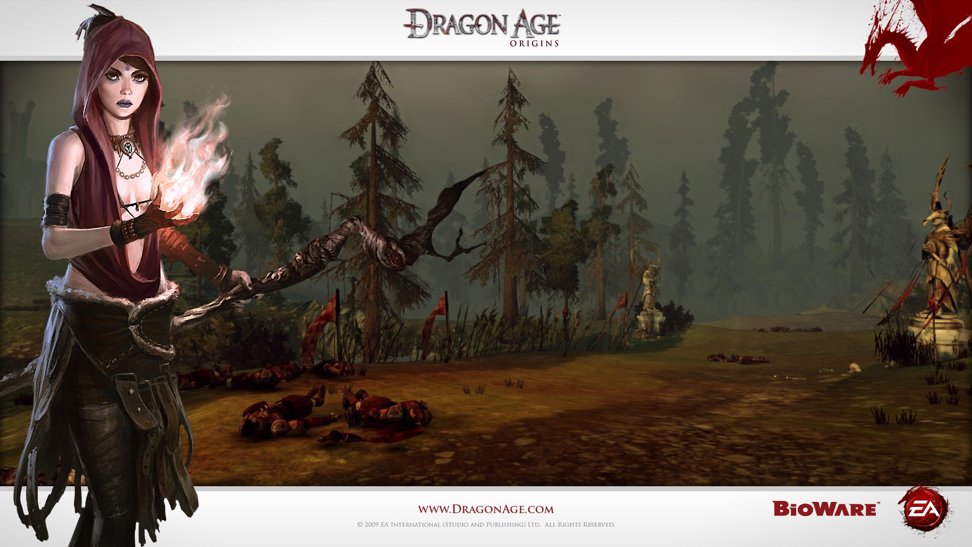 Dragon Age Origins Wallpapers: Dragon Age: Origins HD Wallpaper
