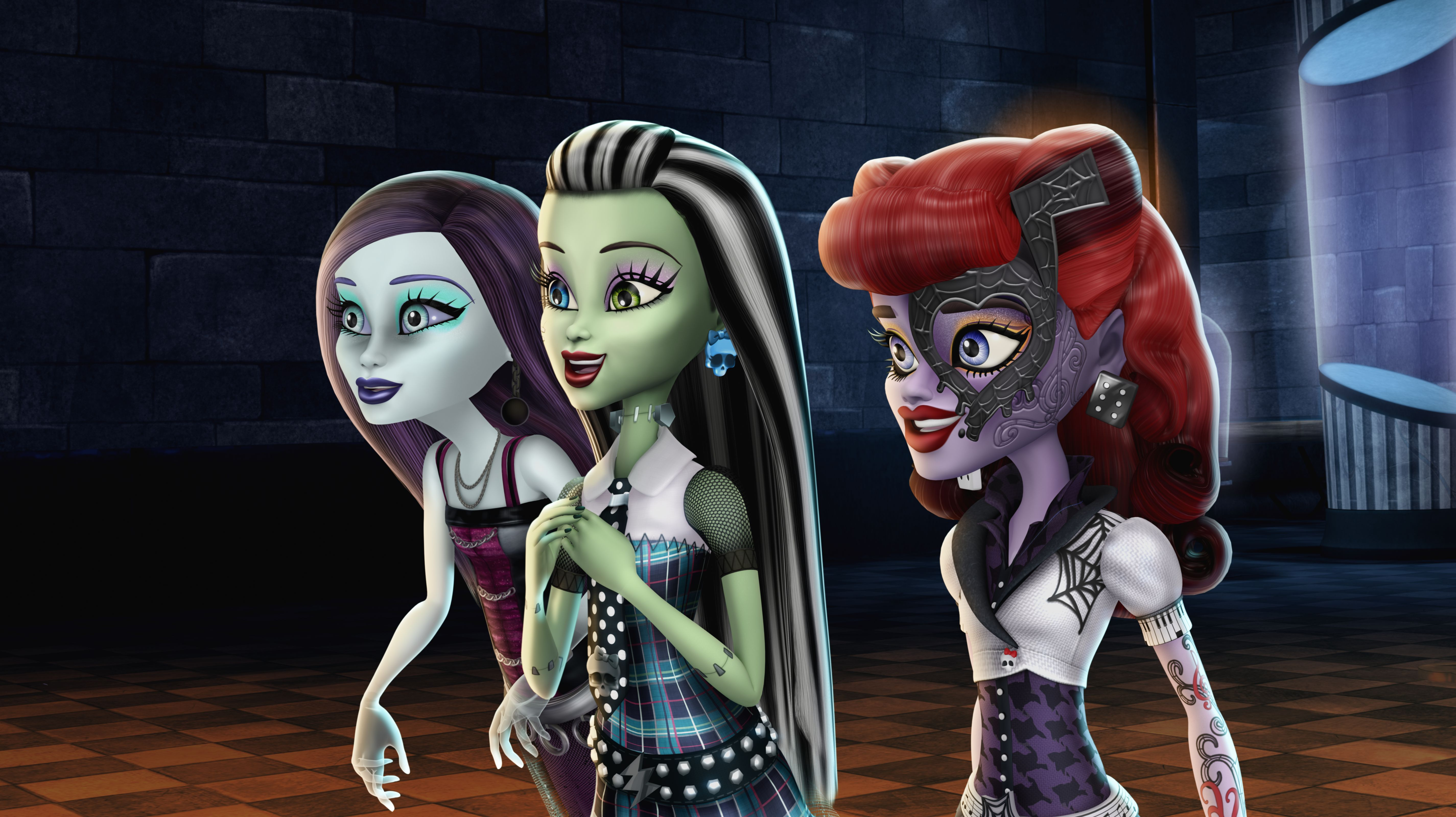 Fondos De Pantalla De Monster High: Monster High: Ghouls Rule 5k Retina Ultra Fondo De