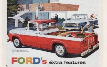 Preview Vehicles - 1958 Ford Art