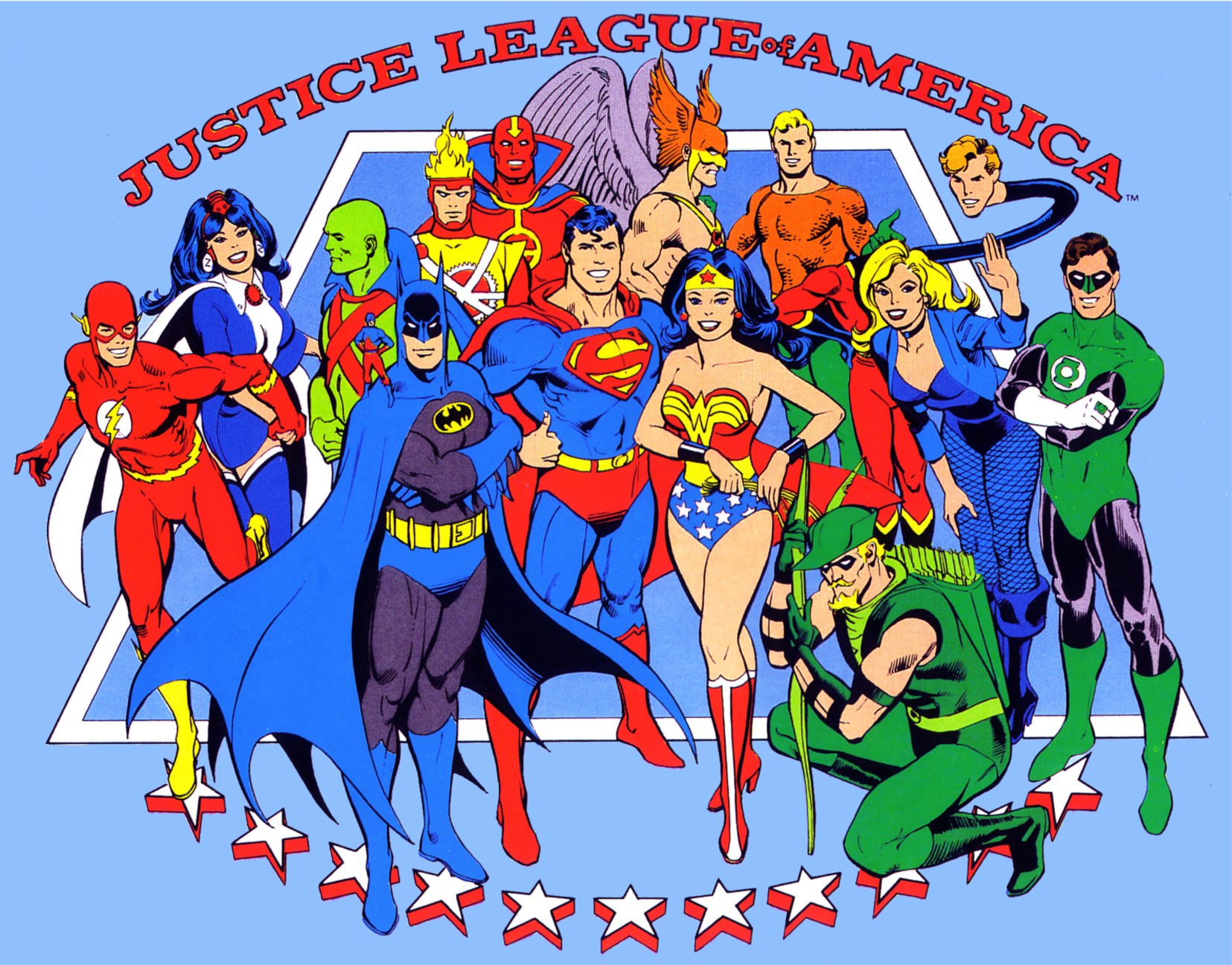 Justice League Of America Wallpaper And Background Image