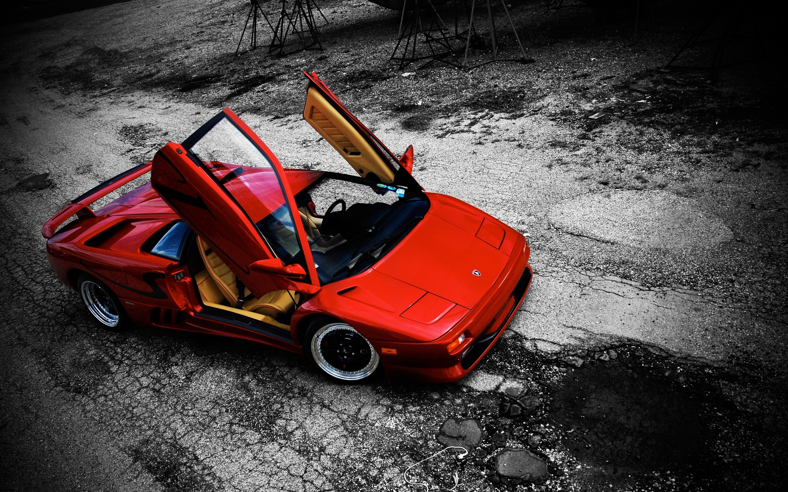 Lamborghini Diablo Full Hd Wallpaper And Background 2560x1600 Id 404147