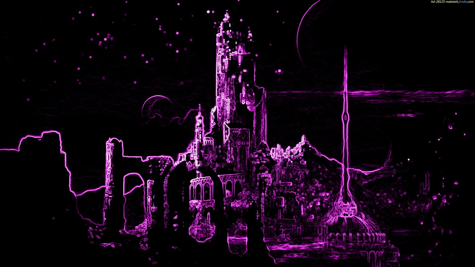 Neon City Hd Wallpaper Background Image 1920x1080 Id 404912 Wallpaper Abyss