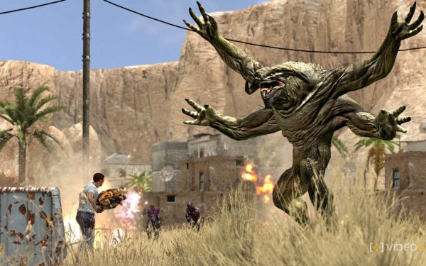 Video Game Serious Sam HD Wallpaper   Background Image