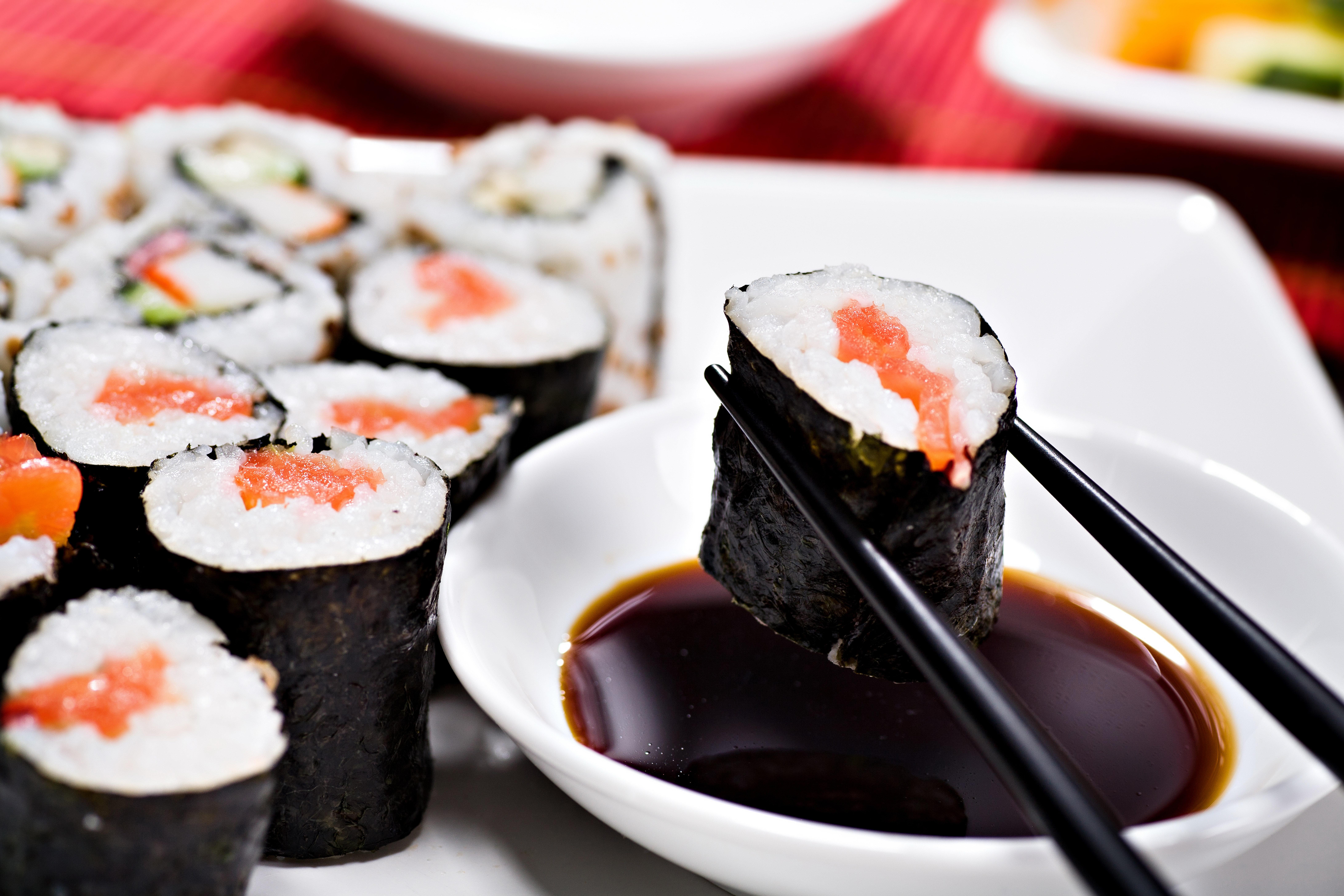 Sushi 8k Ultra HD Wallpaper
