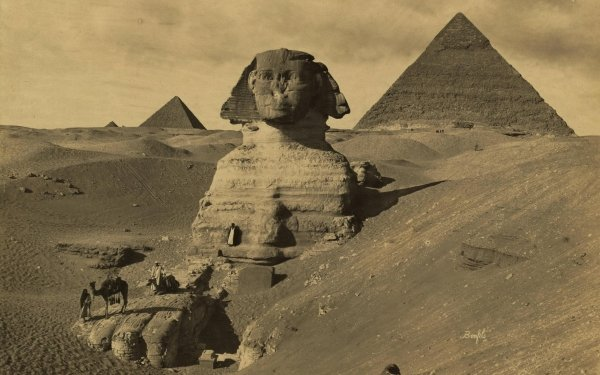 Man Made Sphinx HD Wallpaper | Background Image