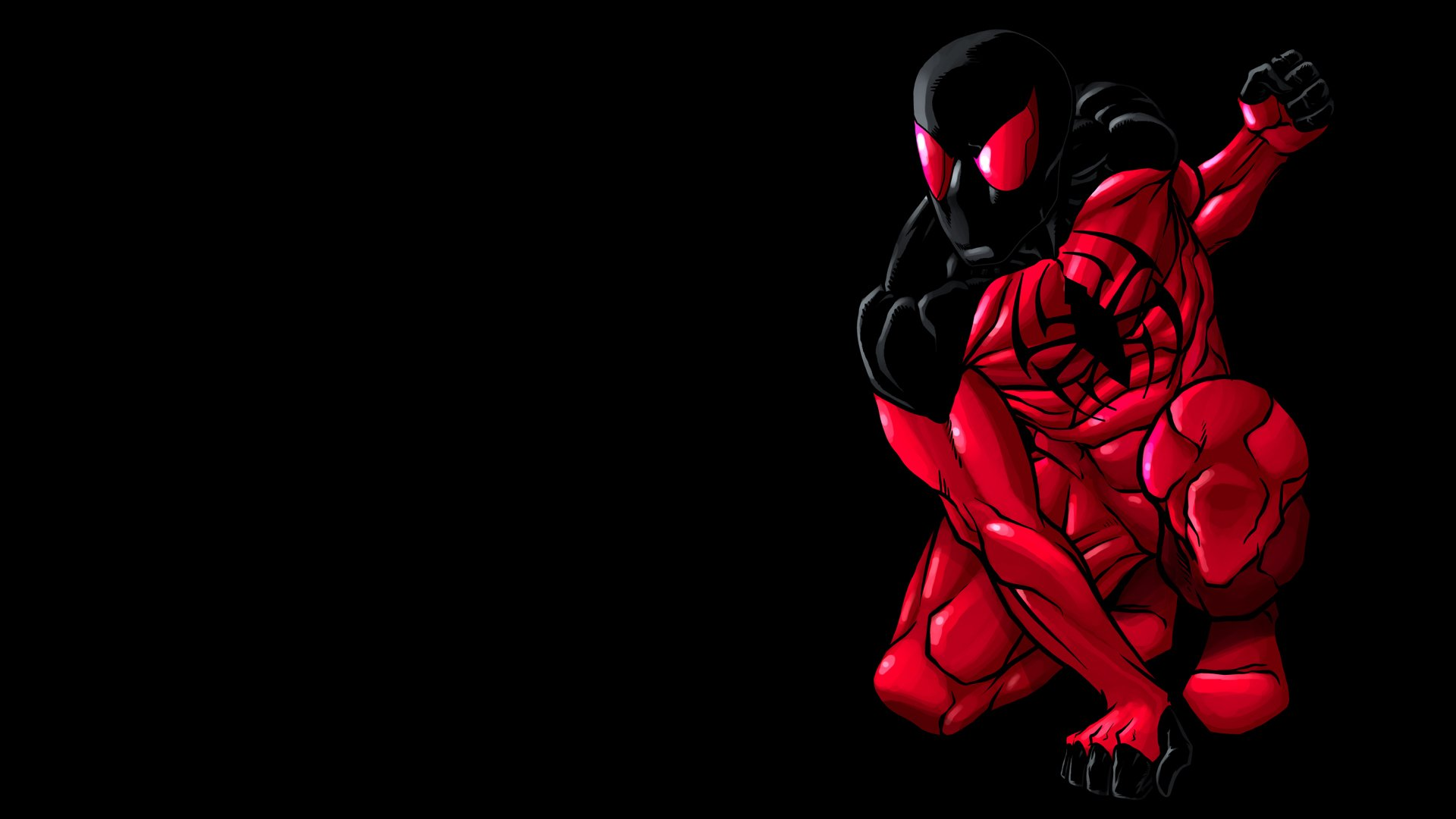 scarlet spider hd wallpaper | background image | 1920x1080 | id