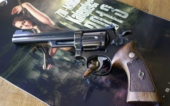 Weapons - Smith & Wesson Revolver Wallpapers and Backgrounds ID : 406380