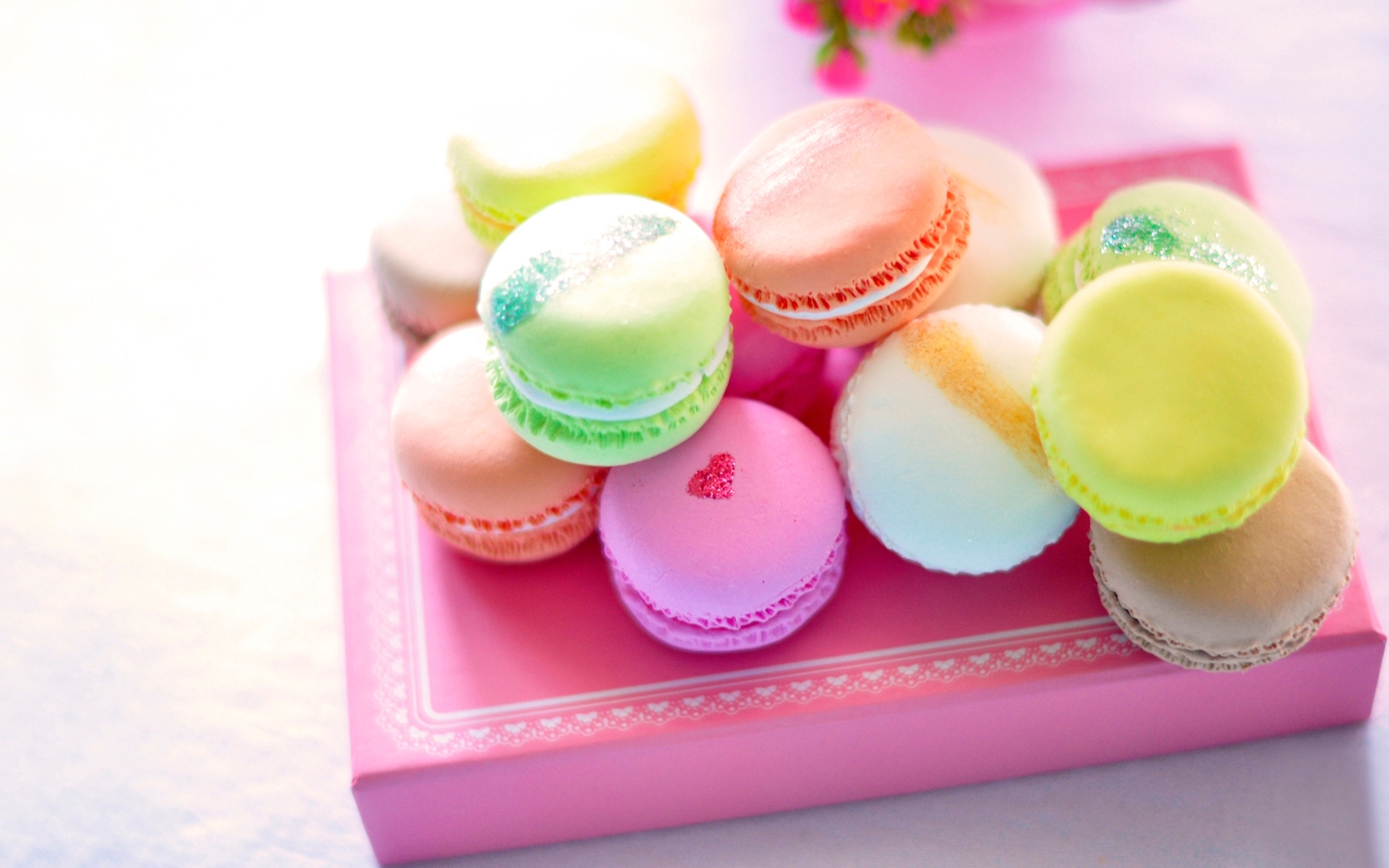 Macaron full hd wallpaper and background image 1920x1200 for Cuisine janod macaron