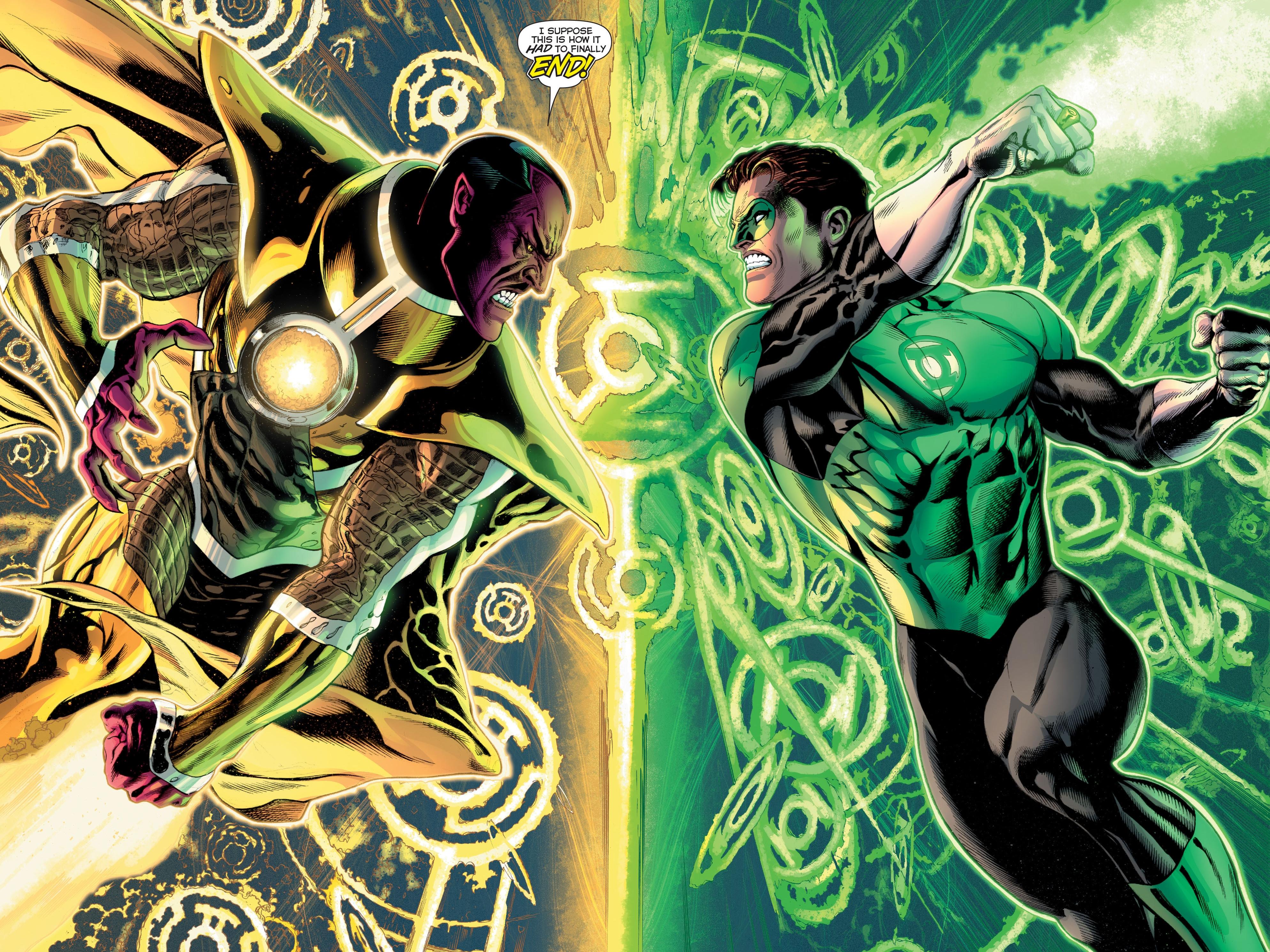 Green Lantern Corps 4k Ultra HD Wallpaper   Background ...