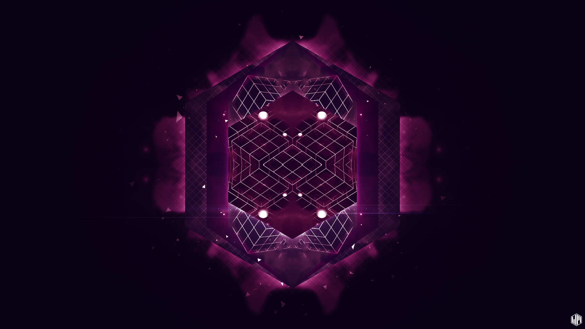 Dark Cubes Wallpapers: Doodlepaper 001 Full HD Wallpaper And Background