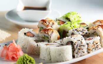 Alimento - Sushi Wallpapers and Backgrounds ID : 407820